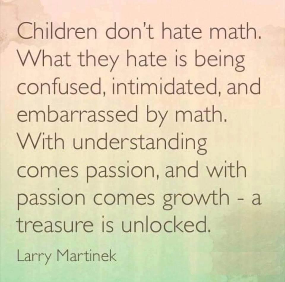 Maths fear